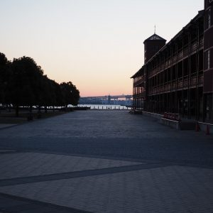 横浜レンガ街の写真