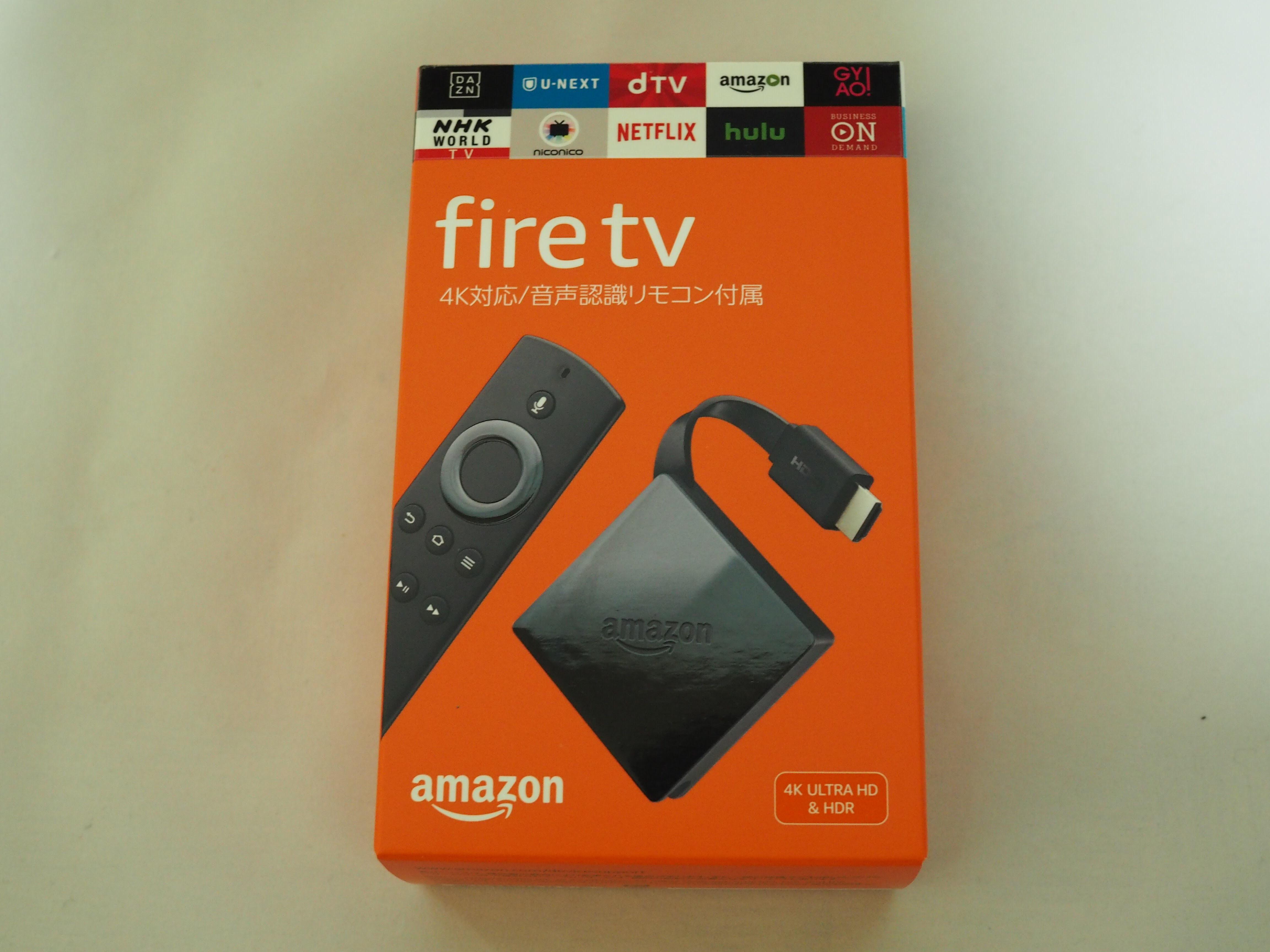 Fire TVの表面