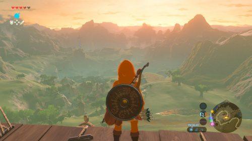 上から見下ろす景色が美しい