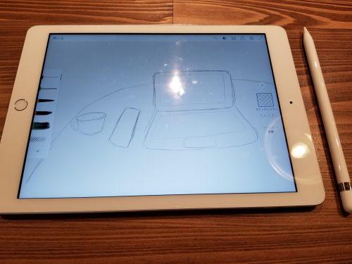 Apple Pencilと第6世代iPad