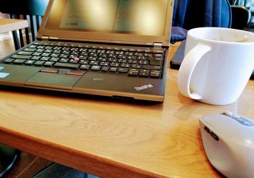 Lenovo ThinkPad X230をスタバで使う