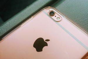 iPhoneの背面写真