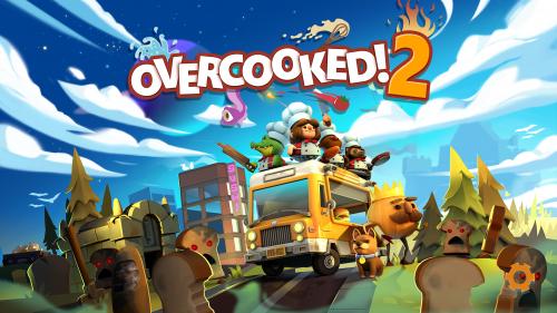 Overcooked2のタイトル画面