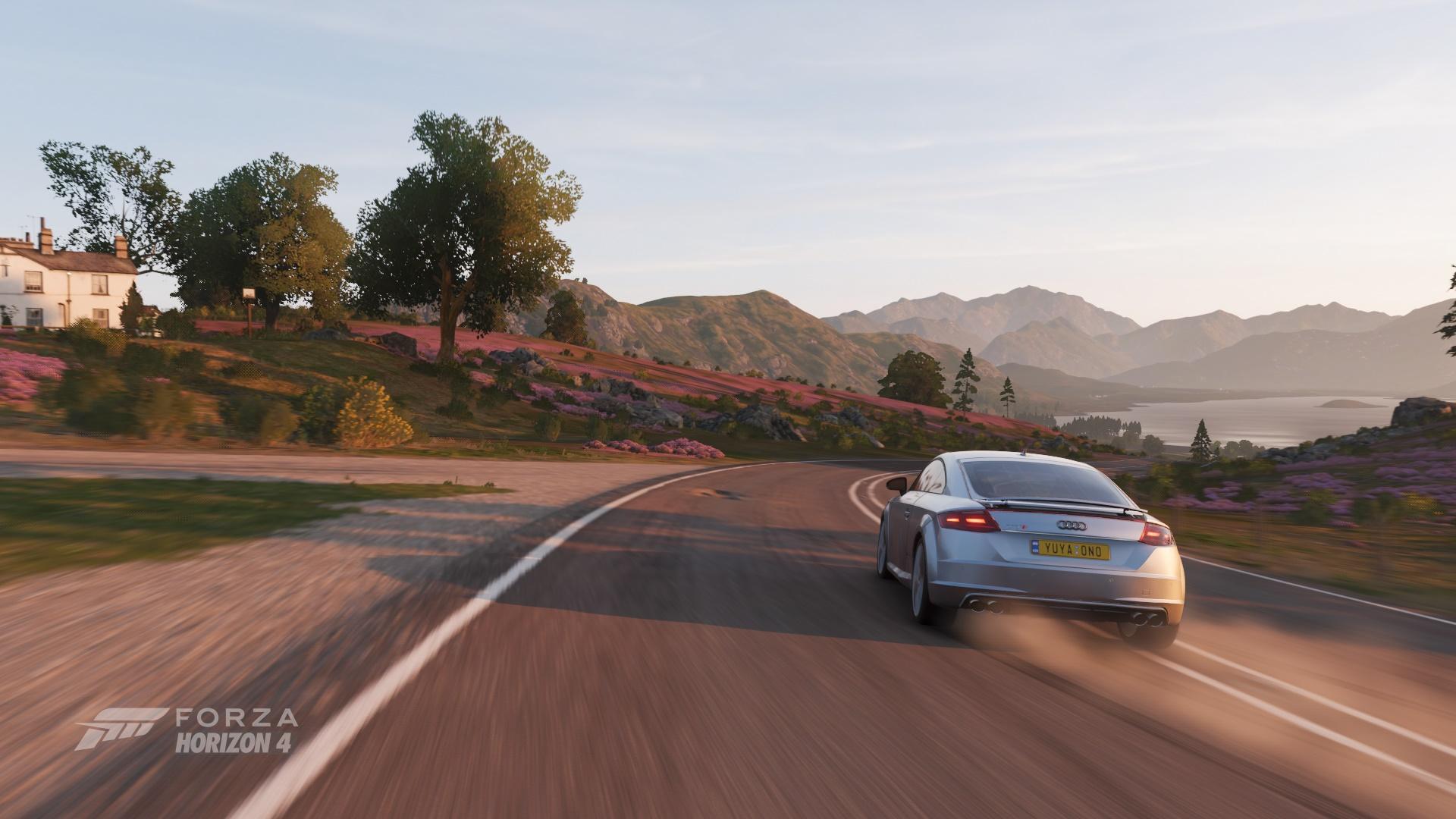 Forza Horizon 4朝のドライブ