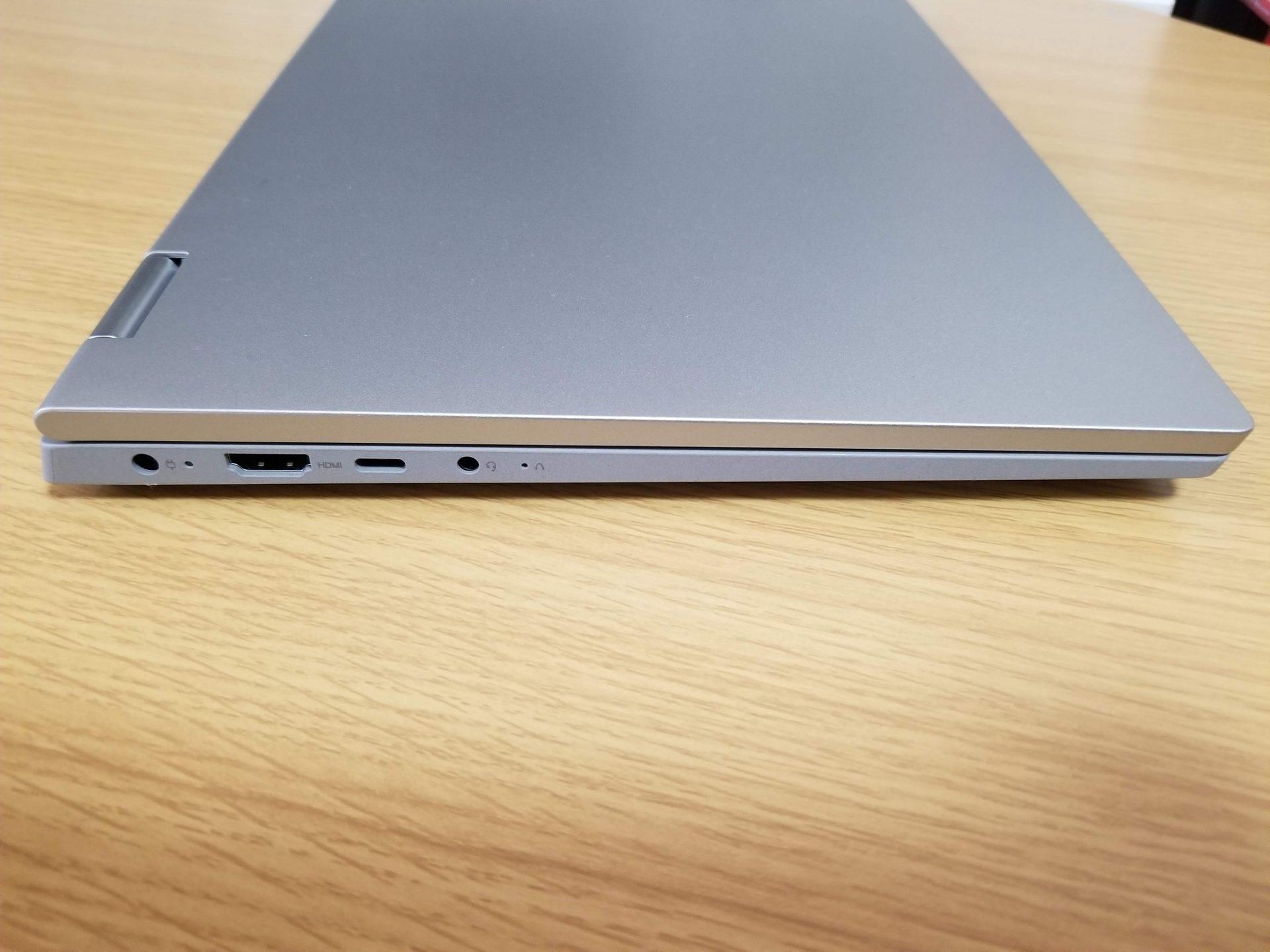IdeaPad Flex 550(14)はUSB Type Cでも充電可能
