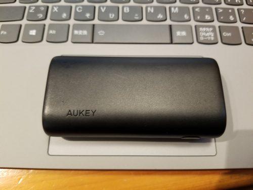 Aukey PB-Y36のサイズ感