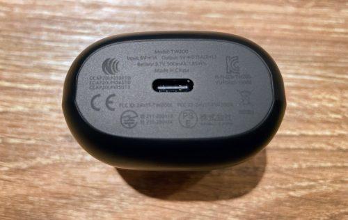 EarFun Airの充電端子