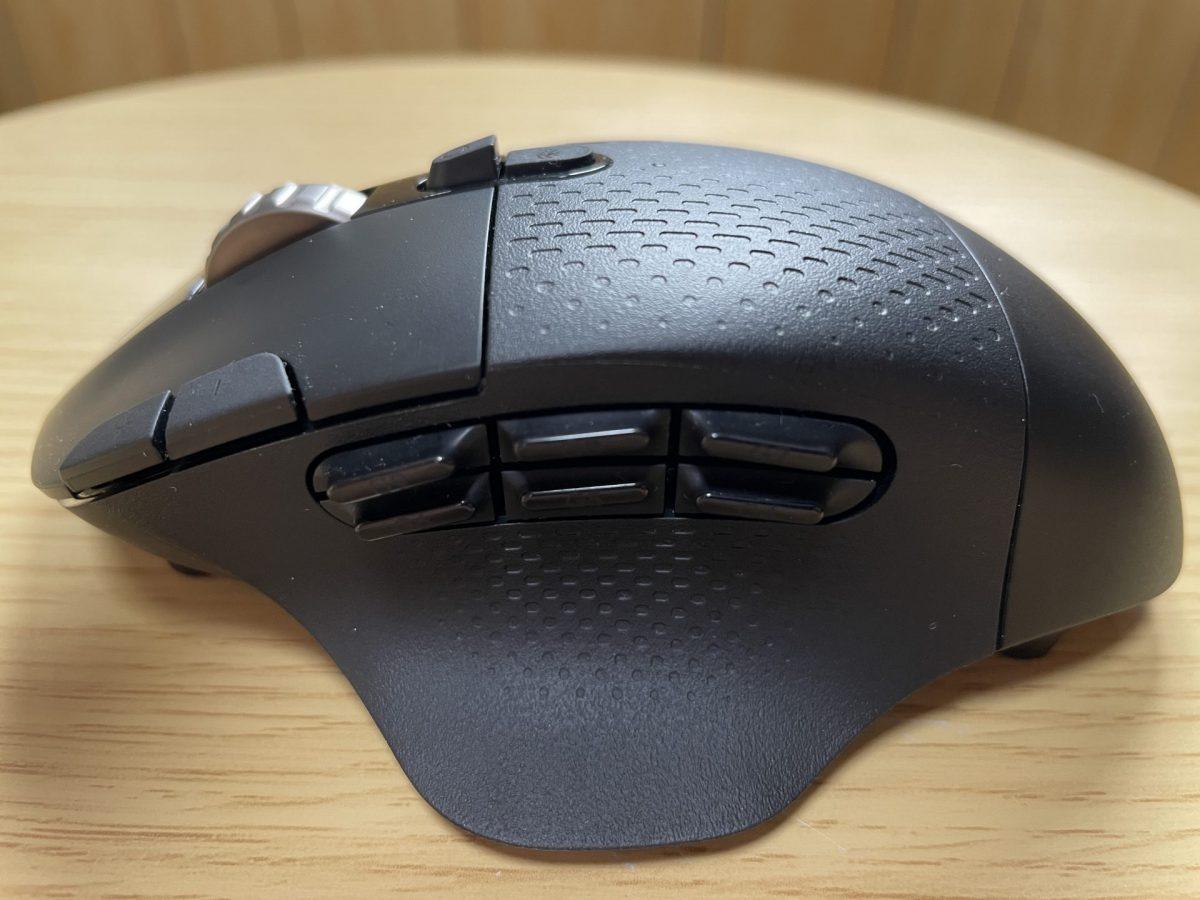 マウス側面の多ボタン
