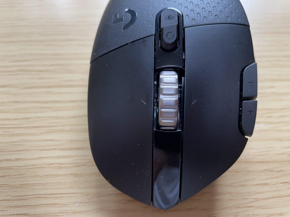 横チルト機能つきマウスホイール