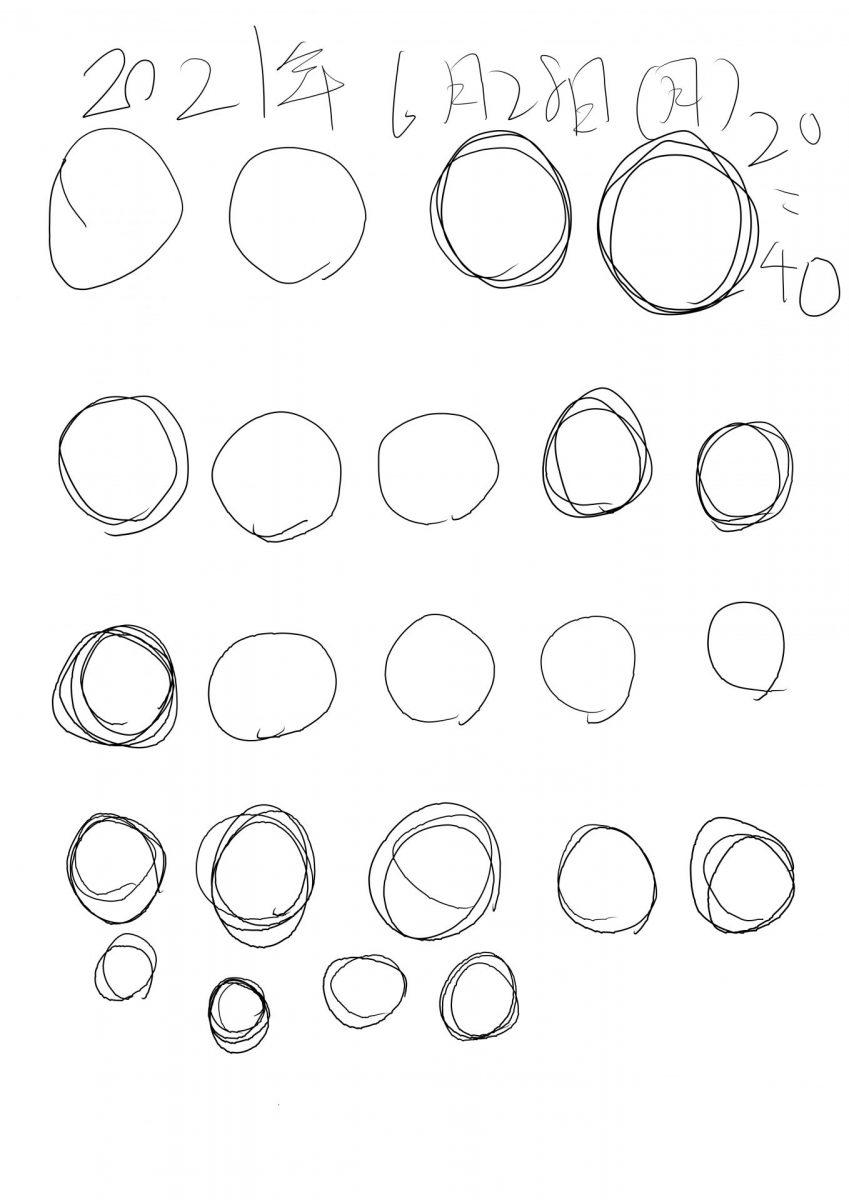 openCanvasで丸を書く1