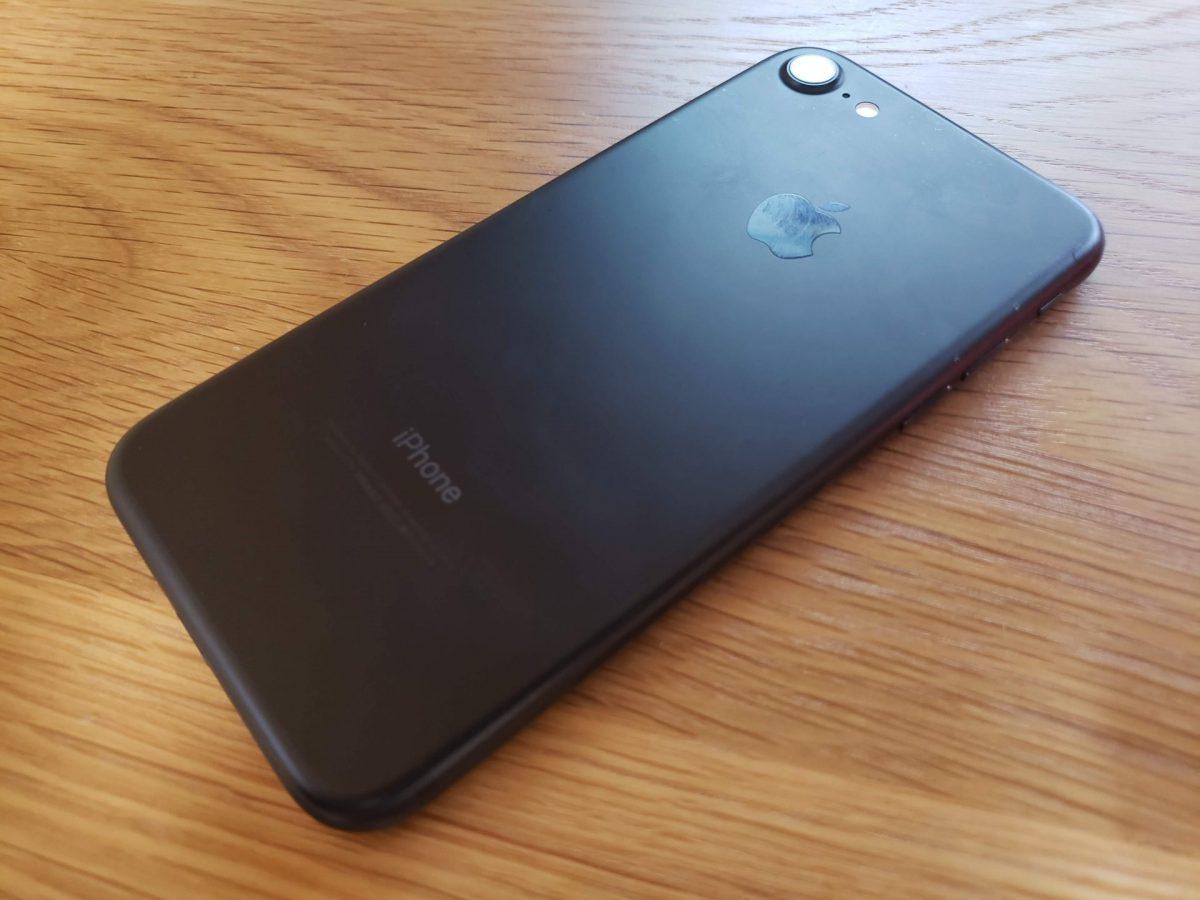 サブ機のiPhone7