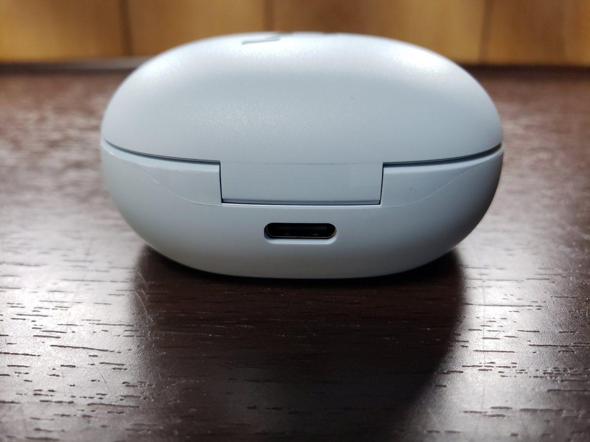 USB Type C端子で充電